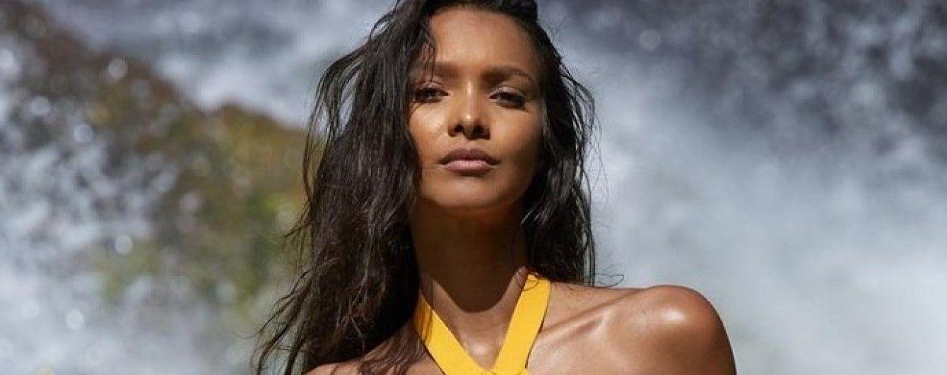 Сексуальная брюнетка Лаис Рибейро снялась для журнала Sports Illustrated