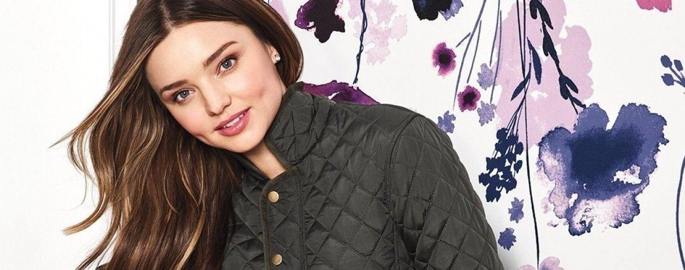 В компании привлекательного брюнета: Миранда Керр в новой фотосъемке