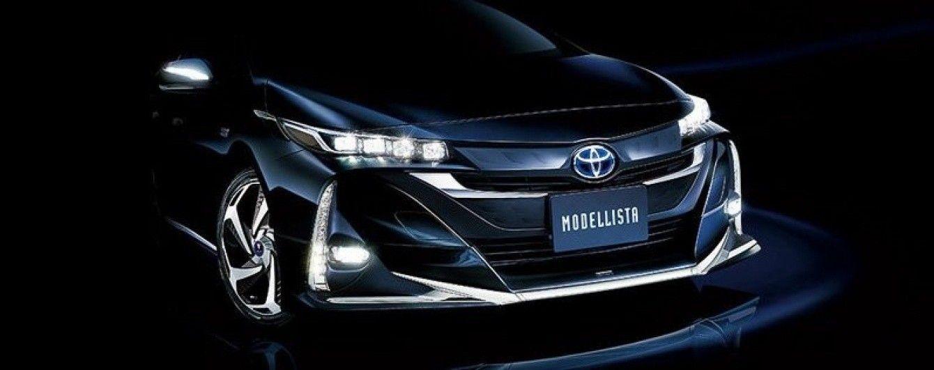 Японские тюнеры доработали гибридный Toyota Prius PHV нового поколения