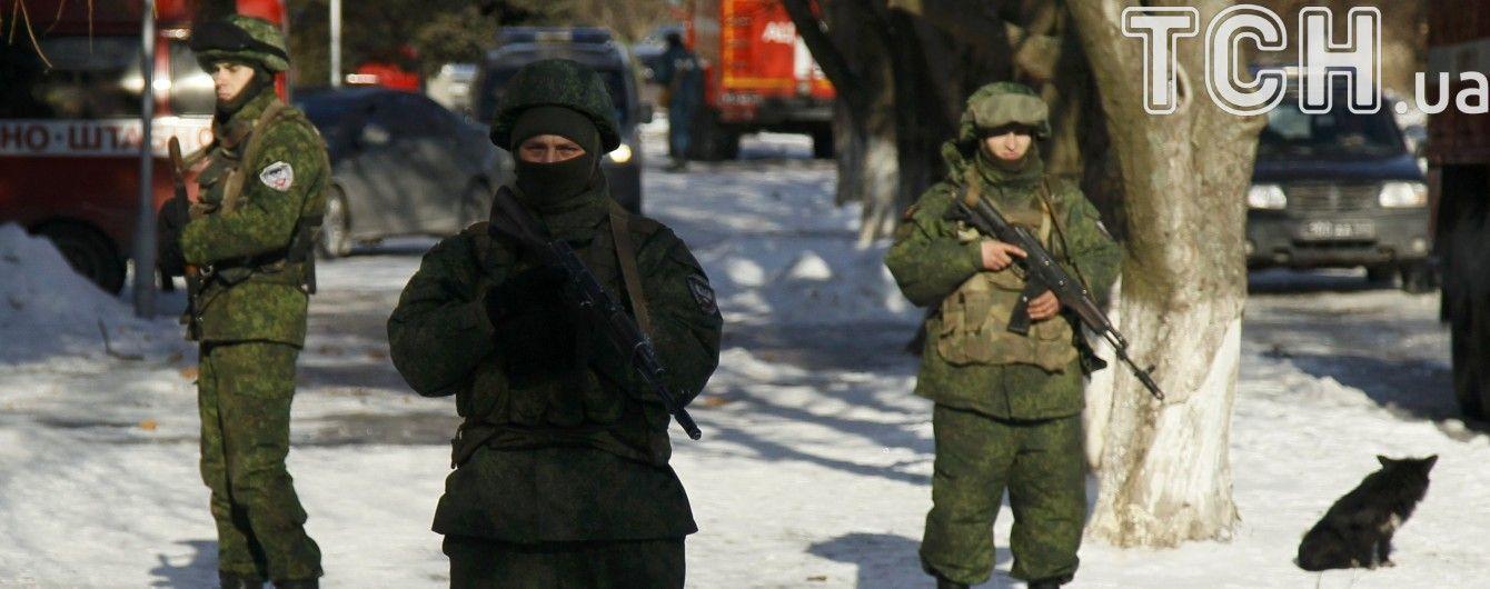 Бойовики обстріляли українських військових поблизу Авдіївки