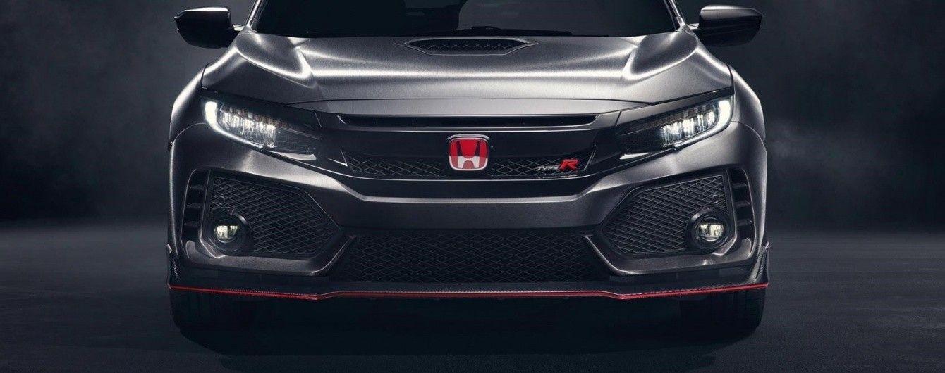 В Женеве Honda покажет серийную версию нового Civic Type R