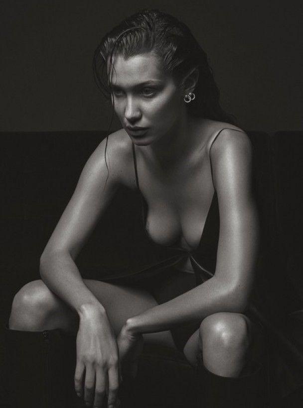 Стопами Мосс: оголена Белла Хадід повторила знамениту фотосесію скандалістки