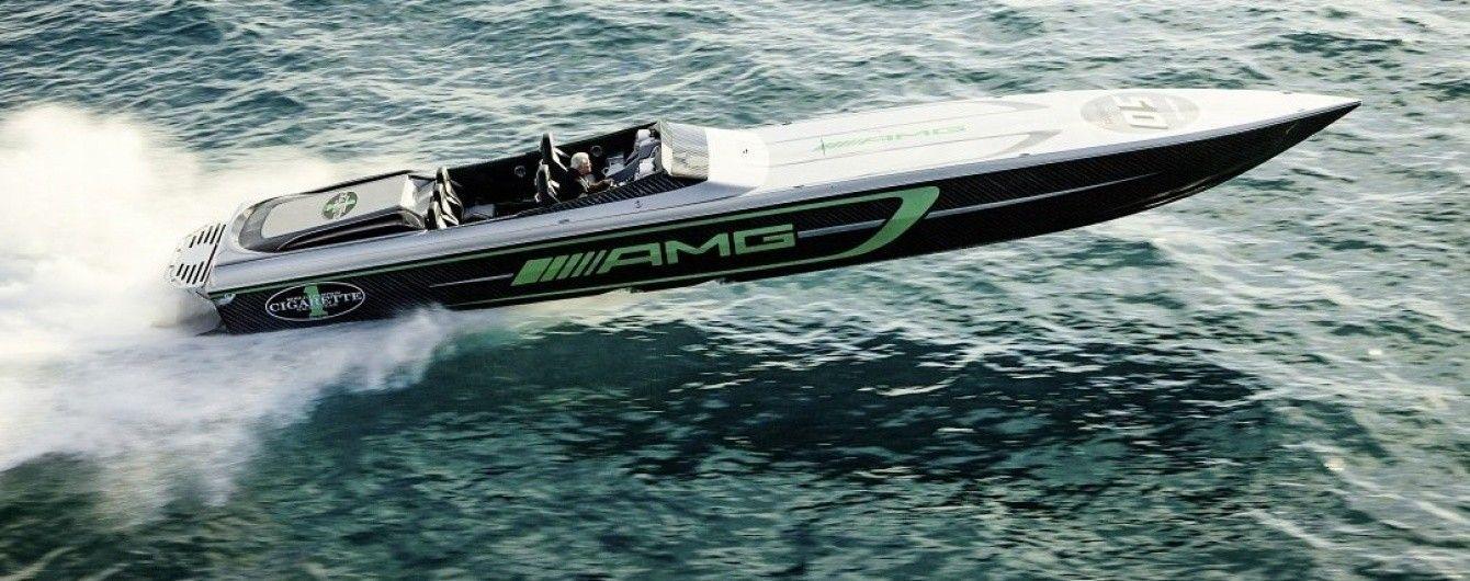 Mercedes-AMG и Cigarette Racing построили экстремальный спортивный катер
