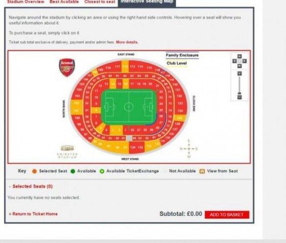 Квитки на матч Арсенал - Баварія_2