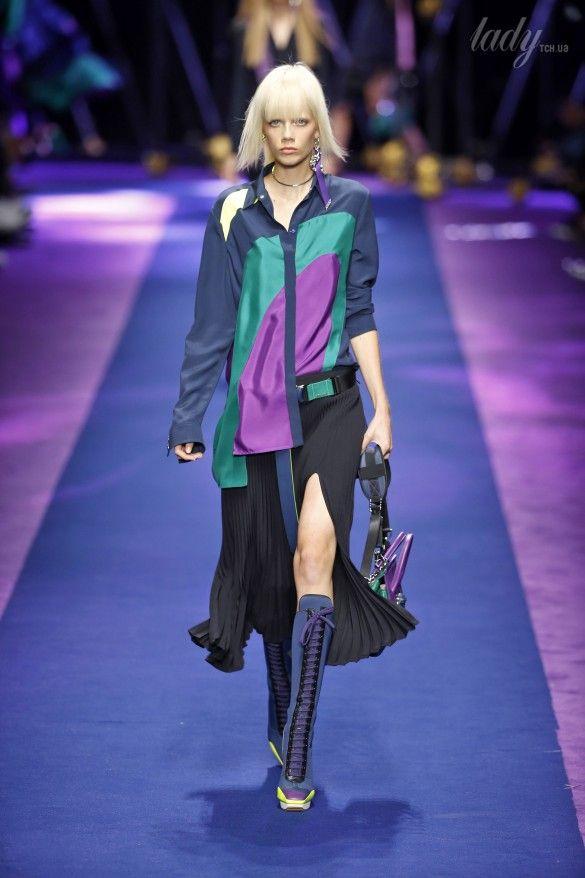 Коллекция Versace прет-а-порте сезона весна-лето 2017_9