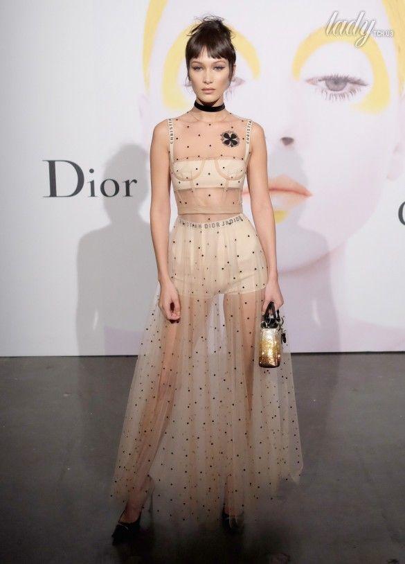 Звезды в платьях от Dior_6