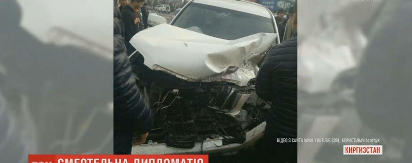 Автомобиль российского посольства спровоцировал смертельное ДТП в столице Кыргызстана