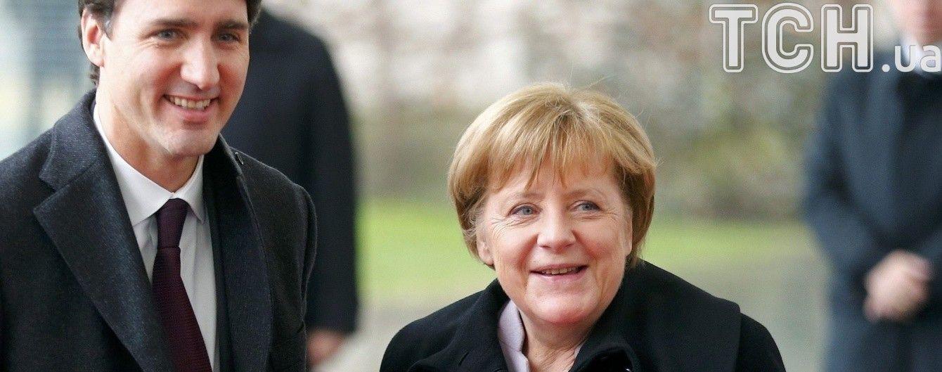 Україна та зміна клімату: про що говорили Трюдо та Меркель у кулуарах G20