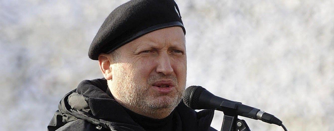 Від призову і строкової служби в Україні не відмовляться — Турчинов