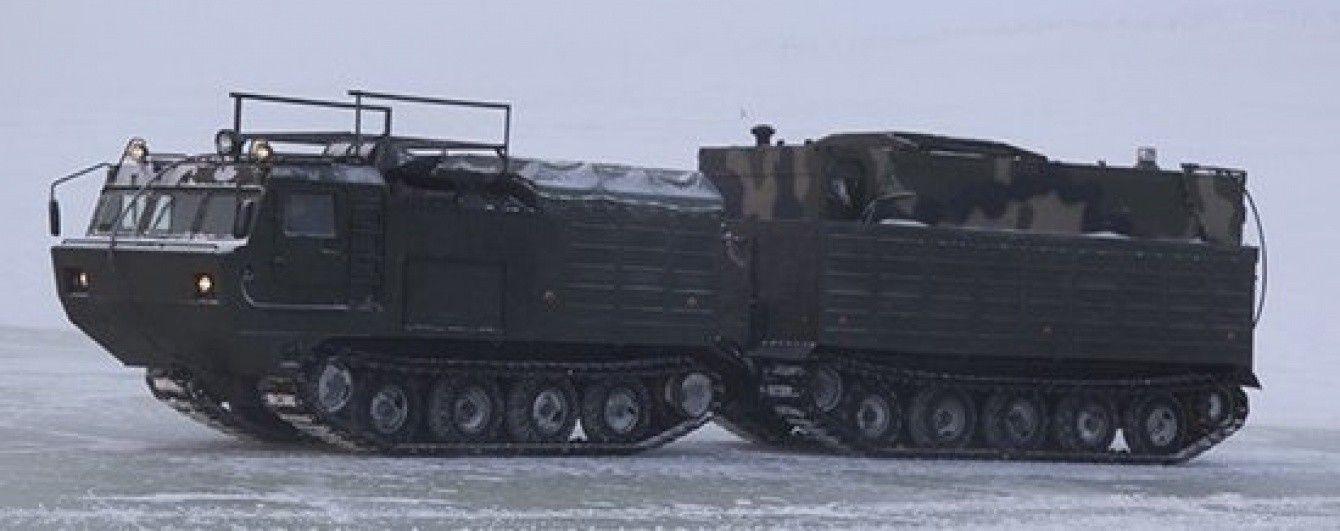 Росія почала військові навчання в окупованому Криму та біля українського кордону