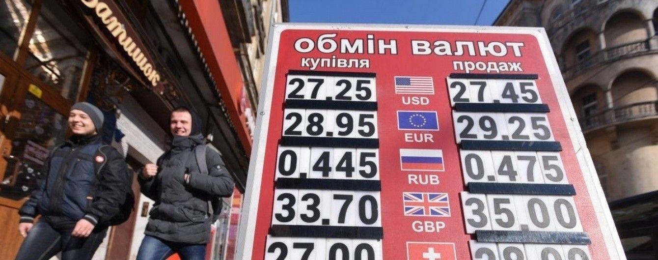 Євро подорожчає у курсах валют від НБУ на 20 червня