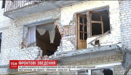 Огонь на Донбассе не утихает, с минометов оккупанты обстреляли Авдеевку