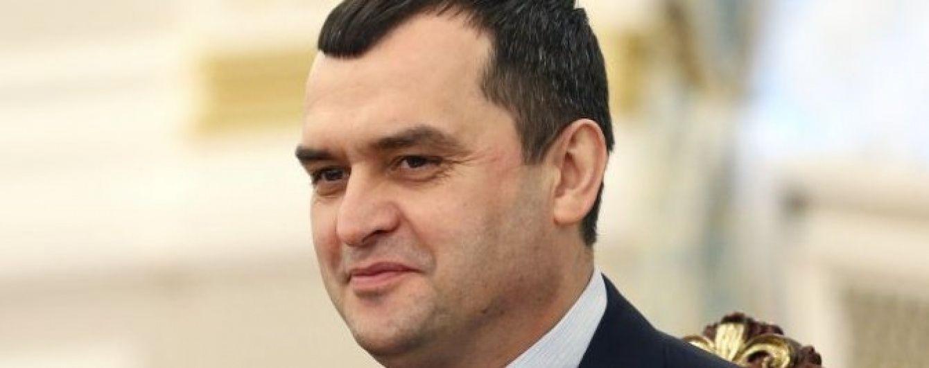 Екс-глава МВС Захарченко працює у Держдумі РФ