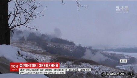 Оккупанты обстреляли Водяное с переносных пусковых установок, а также с артиллерии
