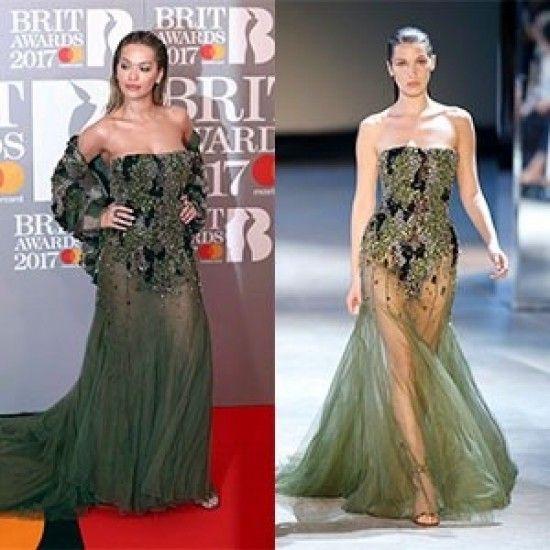Кому больше идет платье Alexandre Vauthier couture осень-зима 2016?