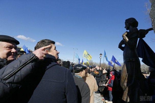 У Києві відкрили пам'ятник поетесі Олені Телізі