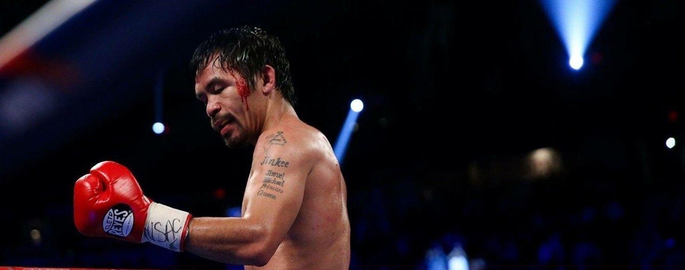 Легенда світового боксу Пакьяо розповів, коли хоче битися з Ломаченком