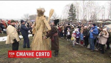 Традиції на Масляну: як у Пирогово весну зустрічали
