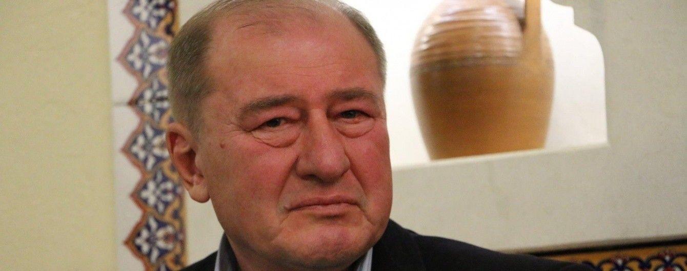 Осужденный Россией Умеров по скайпу принял участие в акции в Киеве
