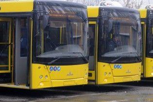 Во Львове городские автобусы объявили в розыск, полиция начала задержание транспорта