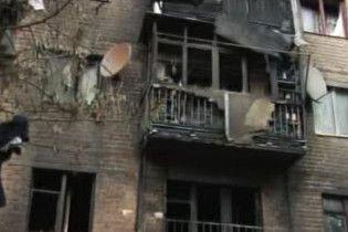 Київ: вибух на вулиці Фрунзе