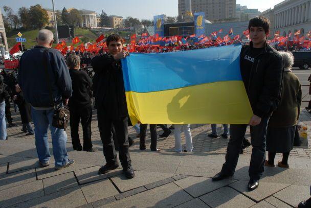 Річниця УПА сколихнула Київ (відео, оновлено)