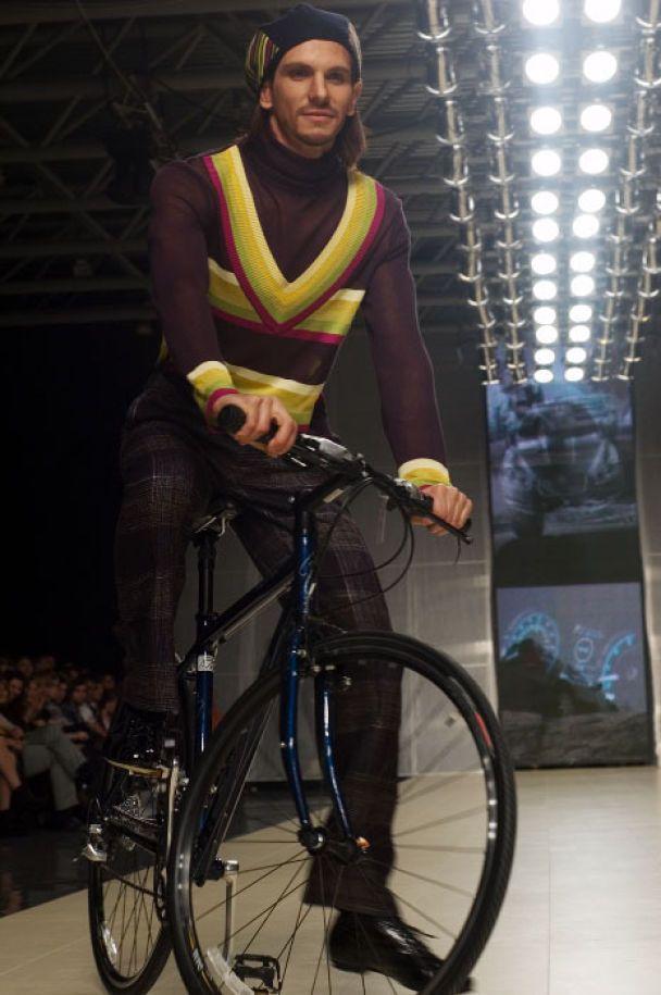 На велосипедах на подіум (фото)