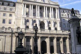 Банк Англії понизив облікову ставку на 1,5 %