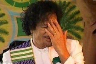 """Каддафі запропонує ООН """"стерти"""" Швейцарію з карти світу"""