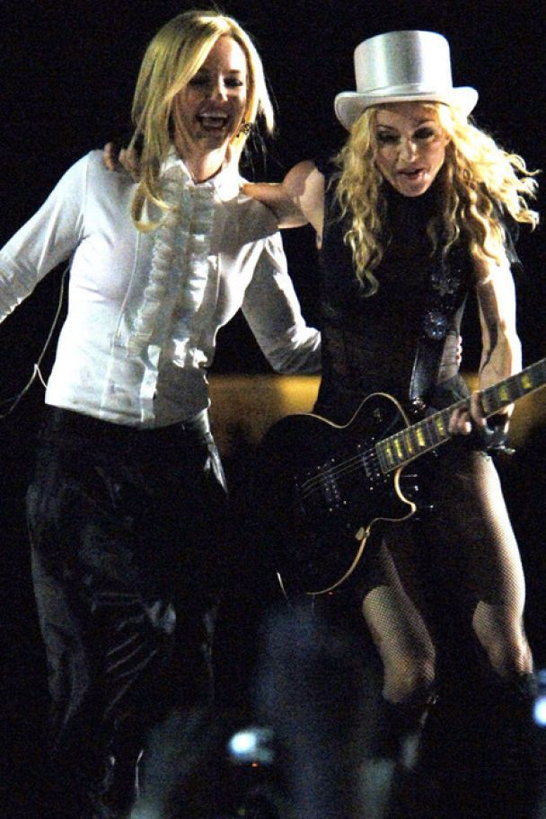 Брітні та Джастін виступили з Мадонною (фото)