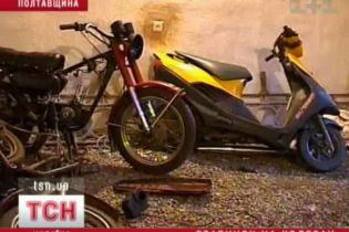 На Полтавщині грабіжники пересіли на скутери (відео)