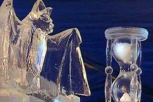 У Бельгії відкрився фестиваль крижаних скульптур (відео)