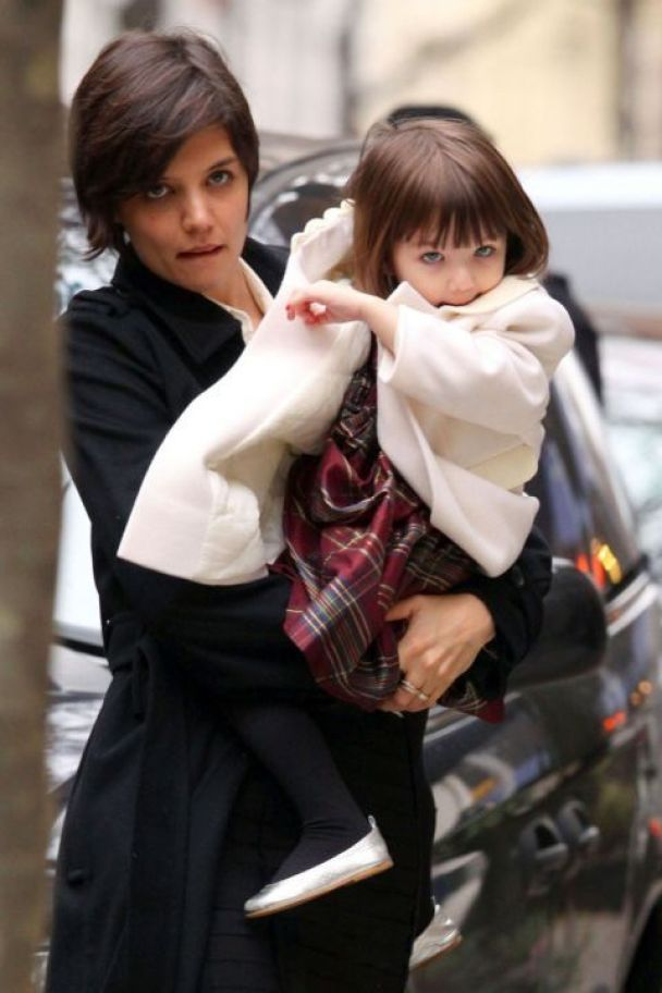 Донька Тома Круза - маленька модниця (фото)