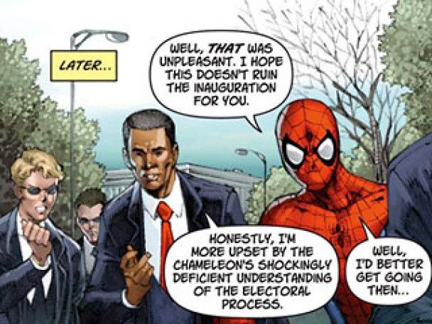 Барак Обама стане героєм коміксу