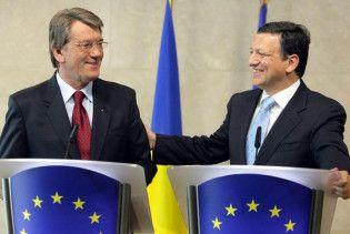 Євросоюз попросив Ющенка не заважати платити за російський газ