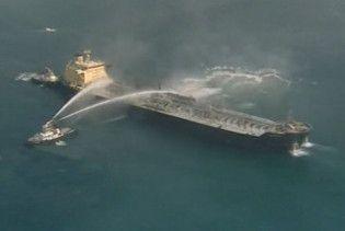 У Малаккській протоці в результаті зіткнення загорівся танкер