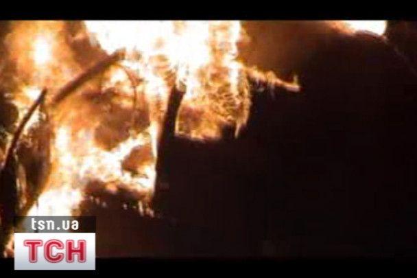 У Львові у власному автомобілі згорів чоловік