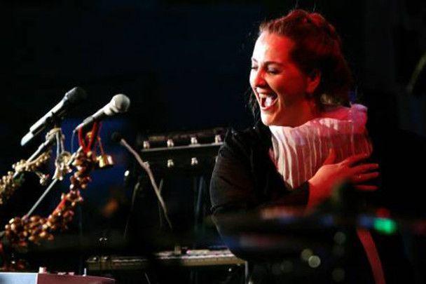 Ніно Катамадзе заспівала у київському сквері
