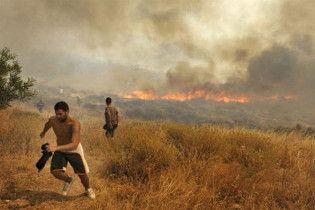 В Європі через лісові пожежі гинуть люди
