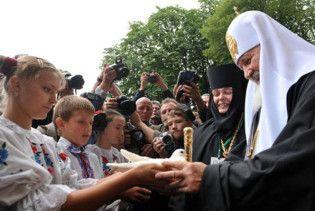 Філарет поскаржився на Кирила в СБУ та міліцію