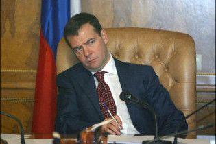 Мєдвєдєв не сподівається на нормальні відносини з Україною