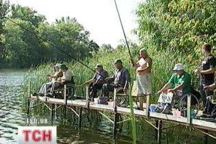 У Києві пройшов чемпіонат з рибної ловлі серед інвалідів