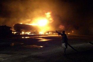 В Афганістані скоєно напад на колону НАТО, є жертви