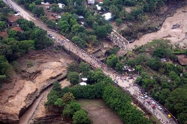 """У Сальвадорі вирує ураган """"Іда"""""""