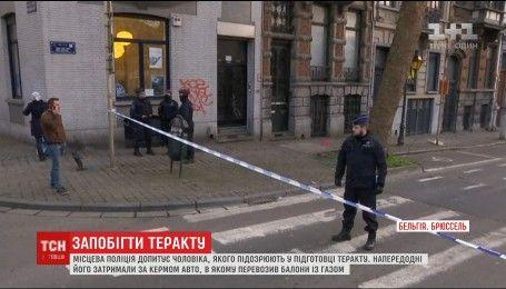 Бельгійська поліція допитує підозрюваного у спробі вчинити теракт у Брюсселі