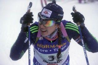 Українка Джима фінішувала сьомою в пасьюті на КС із біатлону в Пхенчхані