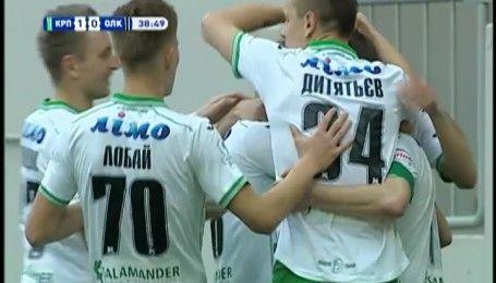 Карпаты - Александрия - 1:0. Видео-обзор матча