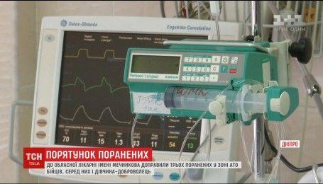В областной больнице имени Мечникова в реанимации остаются шестеро бойцов