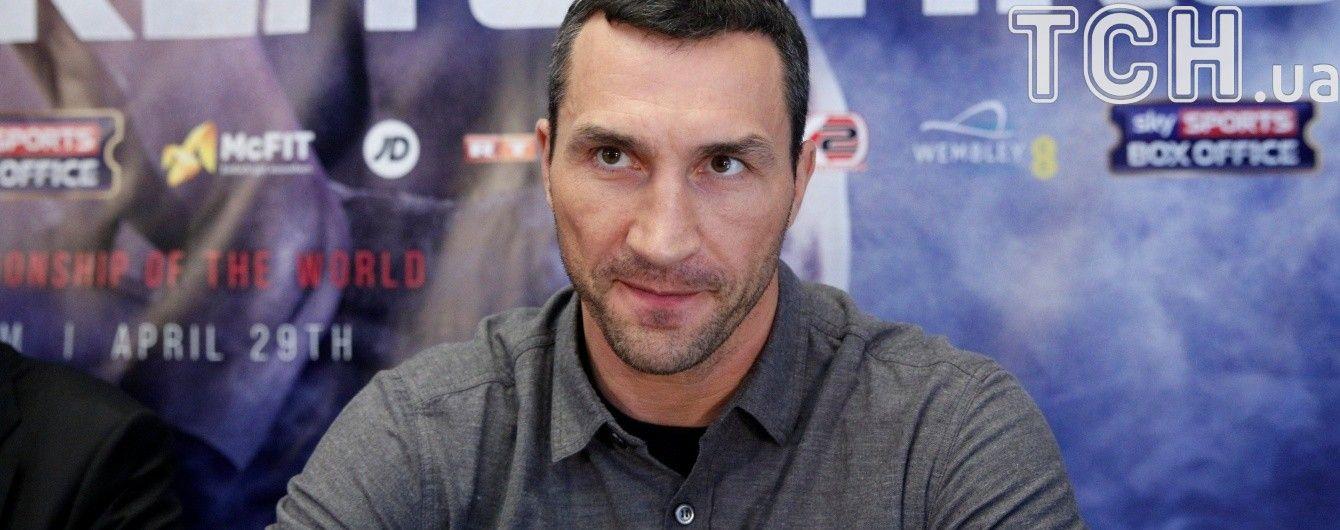 Володимир Кличко: Я схиблений на ідеї піти з рингу в ранзі чемпіона