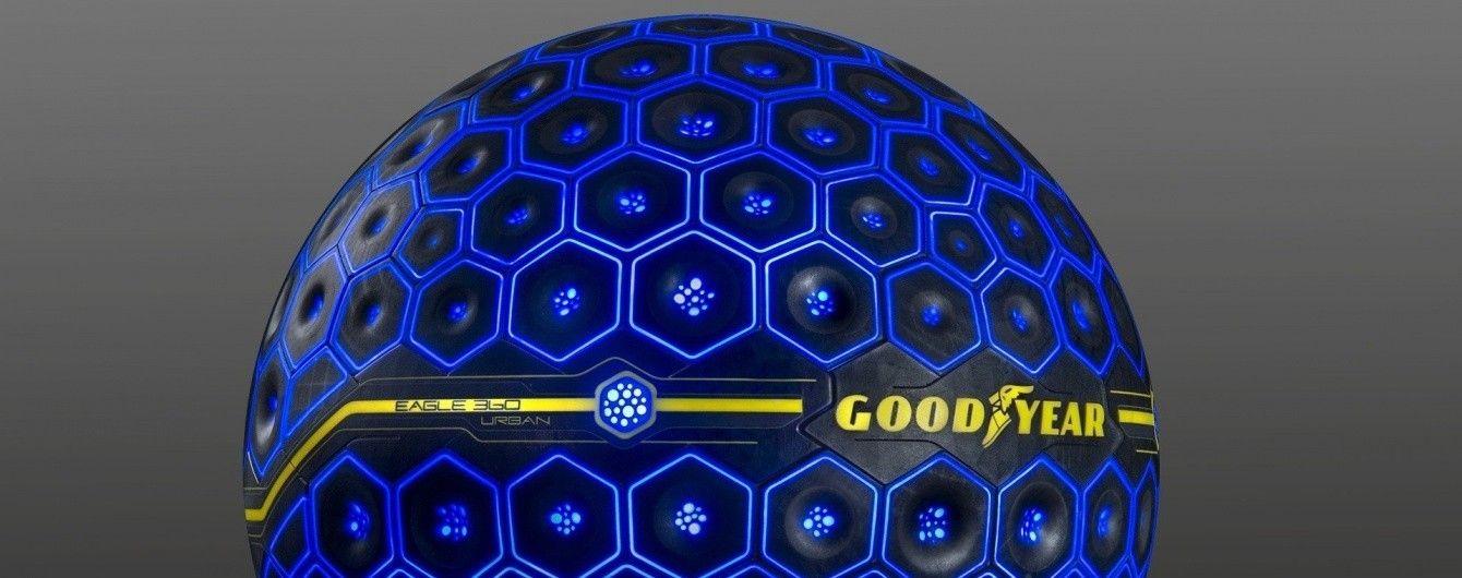 Goodyear представила концептуальные шины с искусственным интеллектом